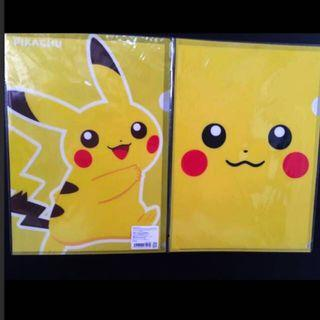 🚚 Authentic 2piece pikachu folder