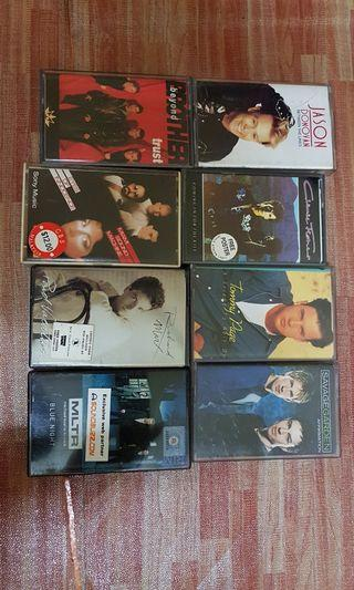 Cassette Tommy page original for 1