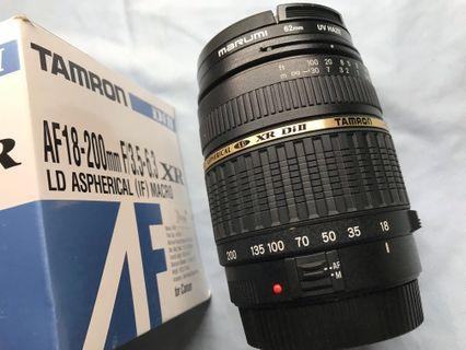 Tamron 騰龍 Af 18-200mm F3.5-6.3 for Canon