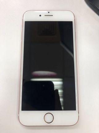 iPhone 6s 64G 玫瑰金(使用三年,邊框有兩處小受損)