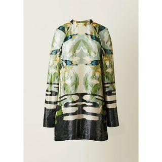 H&M conscious exclusive lyocell silk dress