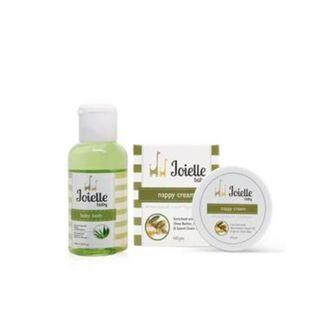 Joielle Trial Set / Baby Ruam Berair / Cure rashes / Nappy Cream / Bath
