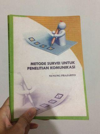 Metode Survei untuk Penelitian Komunikasi - Nunung Pradjarto