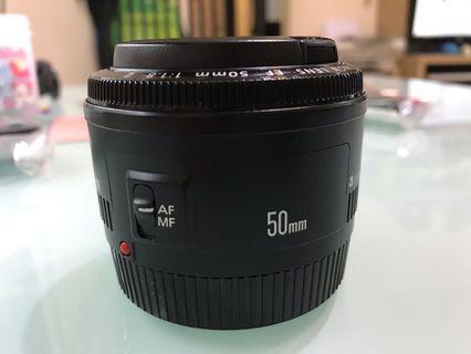 Canon EF 50mm F1.8 ll