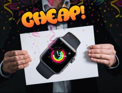 FREEBIES! Apple Watch 3 Series 38mm (GPS) SEALED BOX