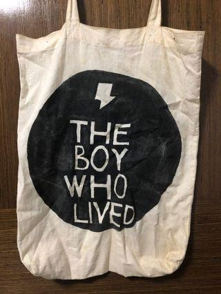 🚚 The Boy Who Lived Tote Bag