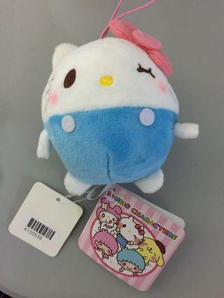 日本全新sanrio hello kitty 公仔吊飾