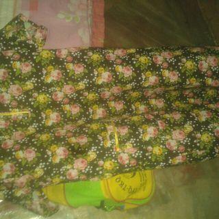 Baju daster kembang kembang
