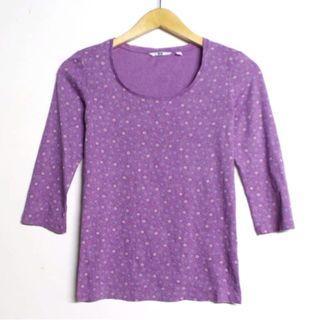 Uniqlo Purple Top #belanjaindong
