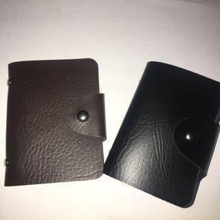 Card Holder 24 Kartu Leather