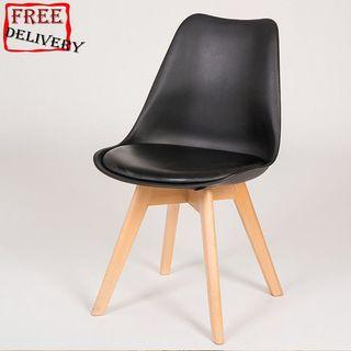 Eames chair/Study.chair/Dining chair/D/Black,white
