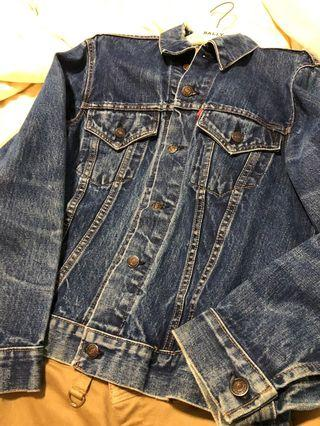 Vintage Levis Big E demin jacket 1970s type 3