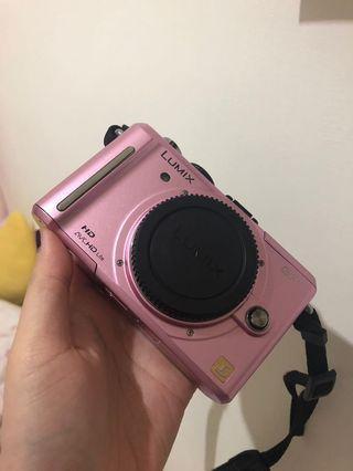 Panasonic GF1 類單眼 微單眼 日本限定櫻花粉機 日本機 原單盒裝完整 相機 數位相機 camera