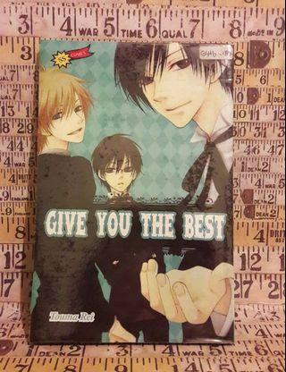 Give you the best