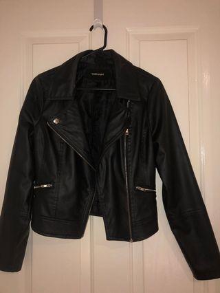 Leather Jacket Size 10