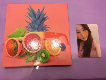 Red Velvet 《The Red Summer》 CD 連 Seulgi 小卡💕