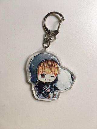 Taehyung spring day keychain