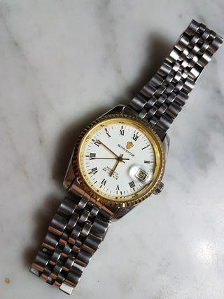 Sandoz 25J Swiss ETA Auto  with Date Men Watch.