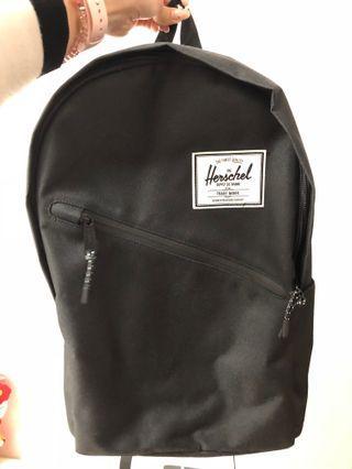 全新Herschel 黑紅色背包