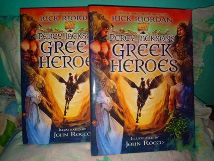 Percy Jackson's (Greek Heroes)iLLustrated HB