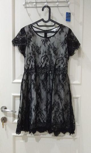 #ramadansale Dress brukat hitam