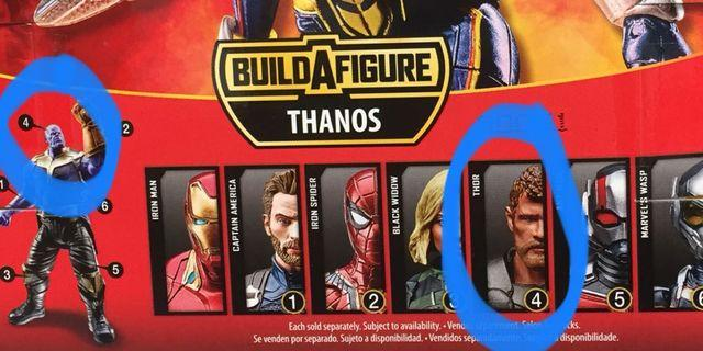徵圖中 Marvel Legends Thor 要有 BAF Thanos