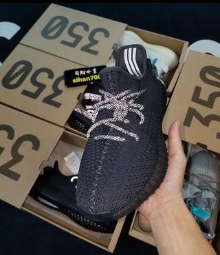 🚚 Adidas yeezy boost 350 v2 黑天使 男女款 ❤️