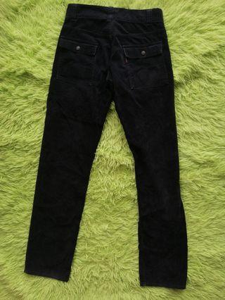 Levi's Bush Pants Corduroy Black Jeans