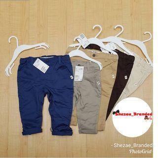 Celana Chinos H&M baby boy ori