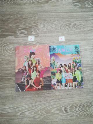 Twice fancy you album, CD, sticker