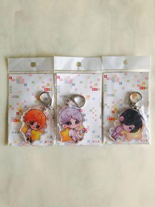 The Promised Neverland Acrylic Keychains