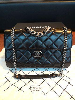 真品 BOY Chanel 30cm bag 手袋 袋 香奈兒