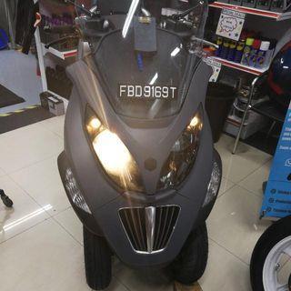 Piaggio Mp3 400 New 10yr Coe