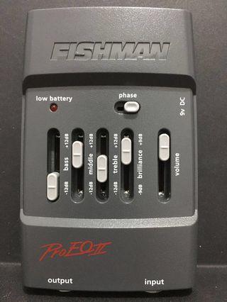 Fishman PRO-EQ II acoustic instrument preamp