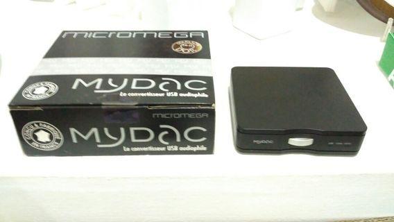 Audiophile DAC Micromega MyDAC (Price Drop)