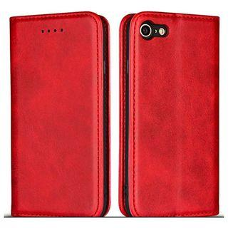 [BN] Apple iPhone 7 / 8 Case Leather Magnetic Cover