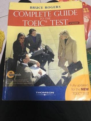 🚚 Complete guide to the Toeic test