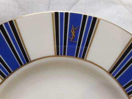 Rare Yves Saint Laurent YSL plates - set of two