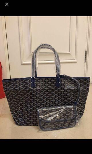 Goyard tote bag large