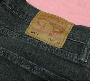 Preowned original Levis pants (Black)