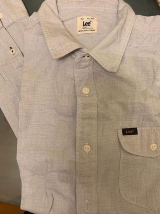 Lee's casual shirt slim fit small collar