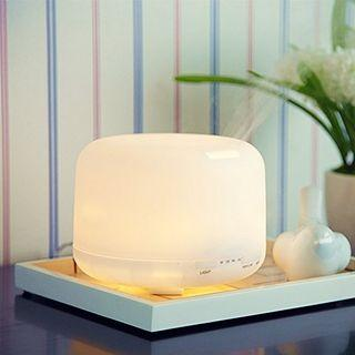 (A141) Sensky Aroma Diffuser 500ml Essential Oil Diffuser Ultrasonic Cool Mist Humidifier 7 Color Changing Light Silent Operation 10 Hours for Home, Office, Bedroom, Yoga, Kid's Room