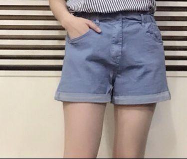 I jeans 手染彈力短褲~