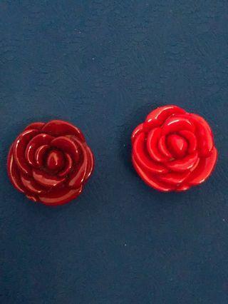 🚚 3ce玫瑰花護唇膏(120含運)