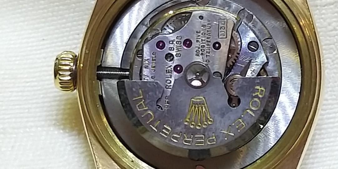 古董18K 玫瑰金 自動ROLEX 錶