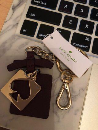 全新Kate Spade鎖匙扣