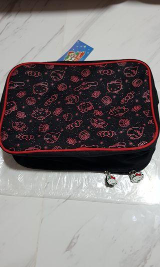 (INSTOCK) Changi's Mystical Garden with Sanrio Characters - Sanrio Travel Bag