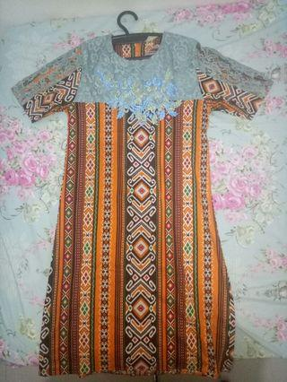 Preloved Dress Batik