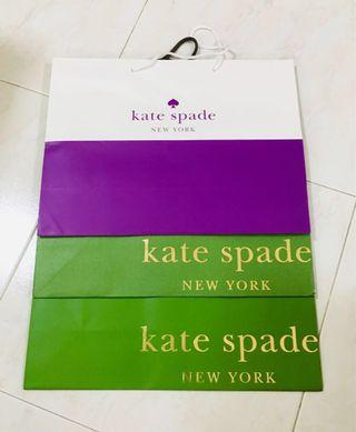 Kate Spade ♠️ Paper bags and Gift box