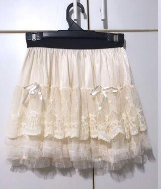 Brand New Lacy Skirt With Inner Piece